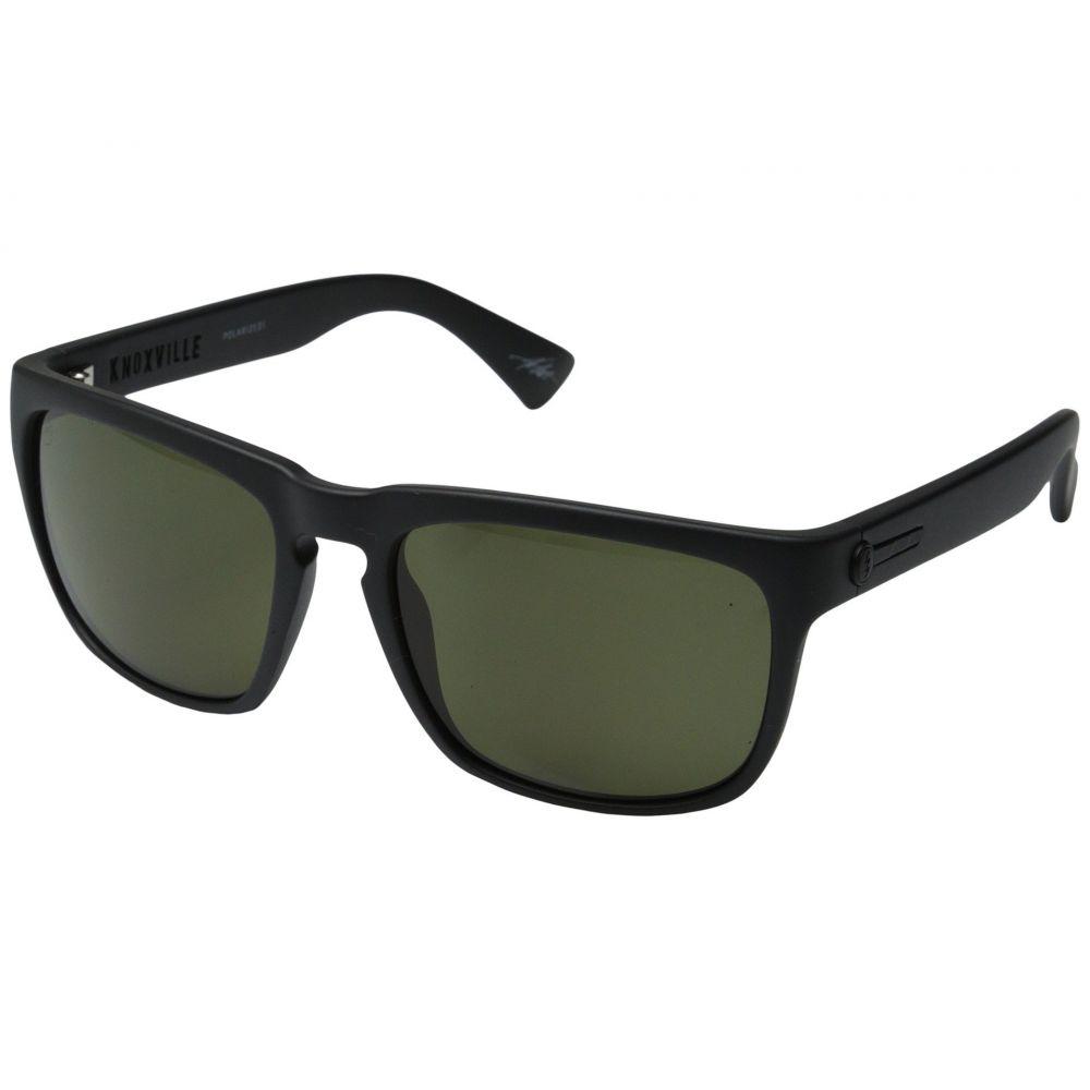 エレクトリック Electric Eyewear レディース メガネ・サングラス【Knoxville Polarized】Matte Black/OHM Grey Polar