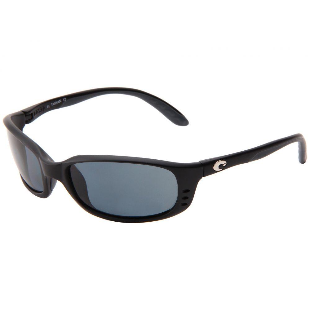 コスタ Costa レディース メガネ・サングラス【Brine 580 Plastic Lens】Black/Gray 580 Plastic Lens