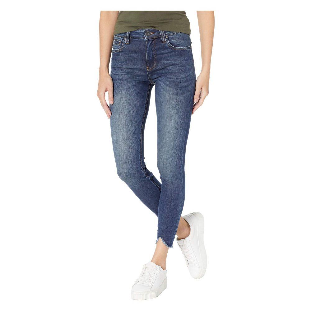 カットフロムザクロス KUT from the Kloth レディース ボトムス・パンツ ジーンズ・デニム【Connie Ankle High-Rise Skinny Jeans w/ Step Hem in Behave w/ Dark Stone Base Wash】Behave w/ Dark Stone Base Wash