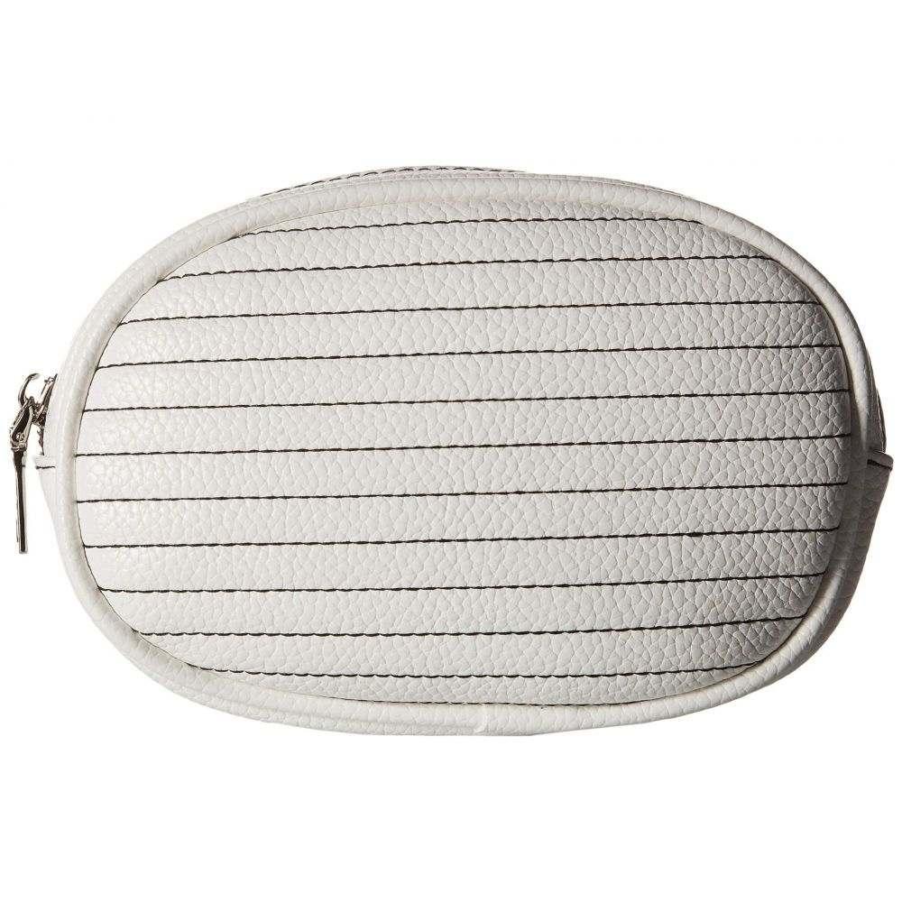 スティーブ マデン Steve Madden レディース バッグ ボディバッグ・ウエストポーチ【Adjustable Web Strap Belt Bag】White