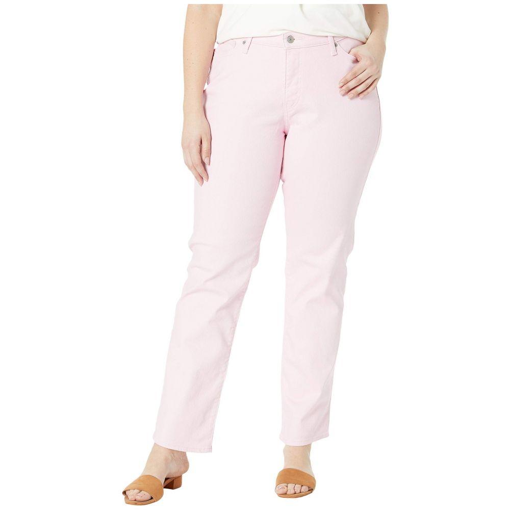 リーバイス Levi's Plus レディース ボトムス・パンツ ジーンズ・デニム【414 Classic Straight】Soft Light Pink