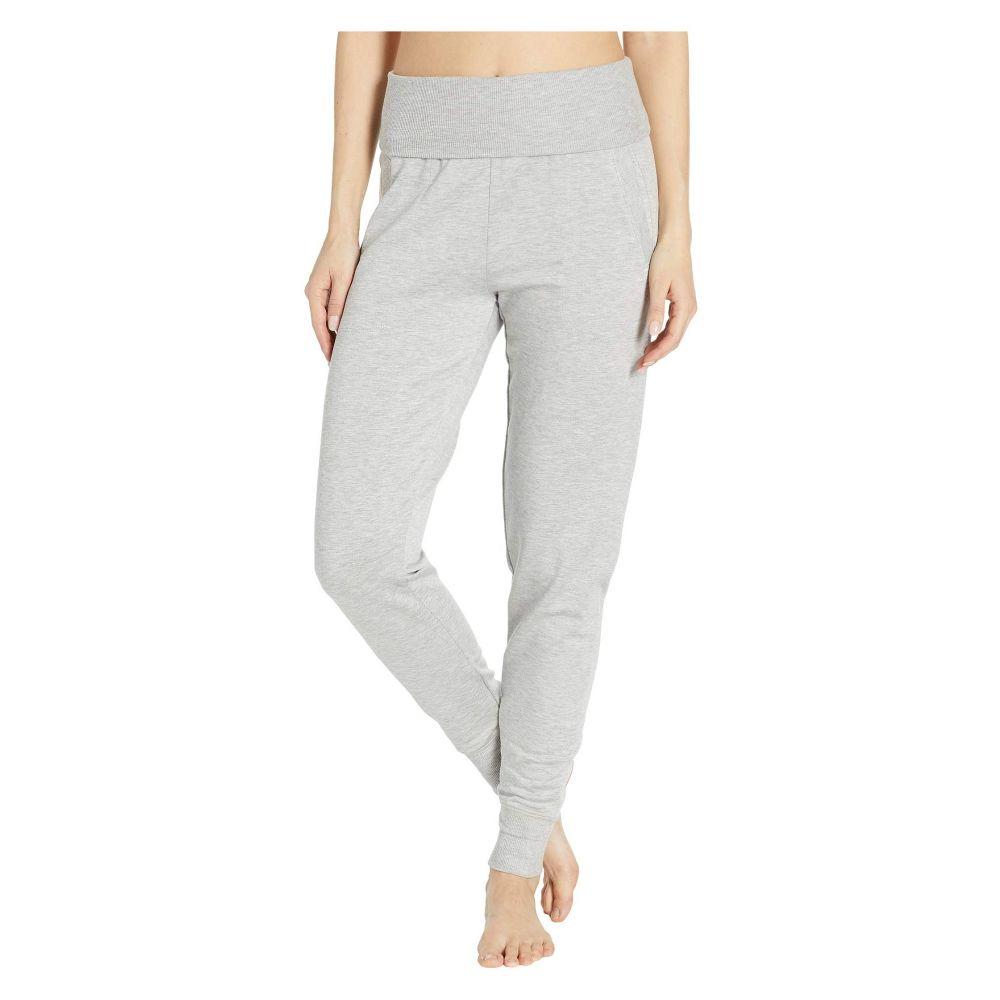 ビヨンドヨガ Beyond Yoga レディース ボトムス・パンツ スウェット・ジャージ【Fleece Fold-Over Sweatpants】Light Heather Gray