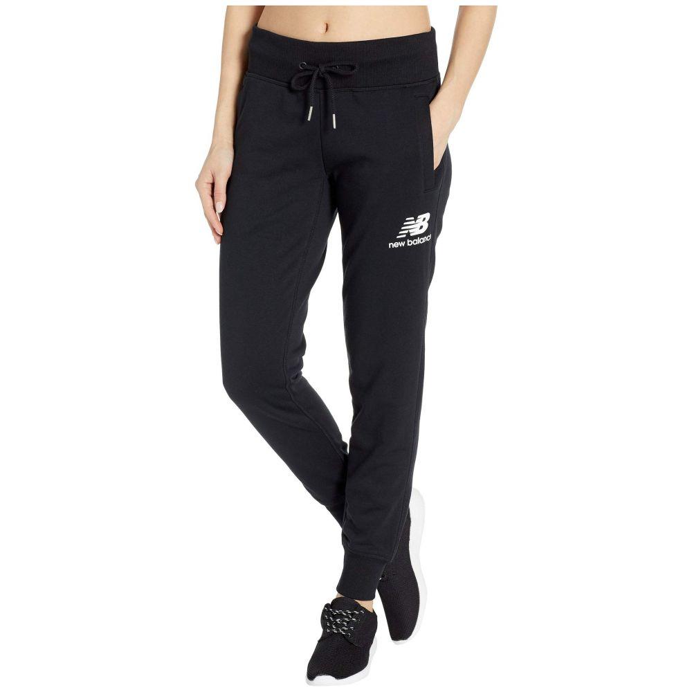 ニューバランス New Balance レディース ボトムス・パンツ スウェット・ジャージ【Essentials French Terry Sweatpants】Black