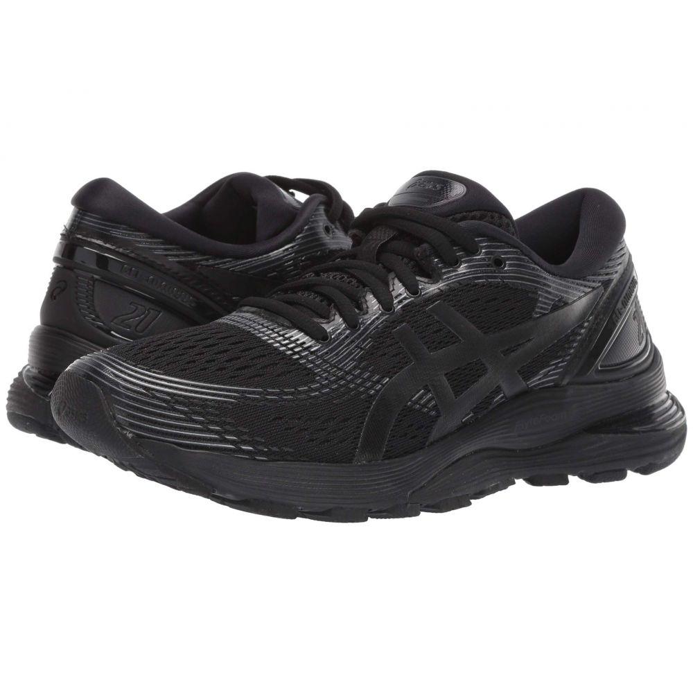 アシックス ASICS レディース ランニング・ウォーキング シューズ・靴【GEL-Nimbus 21】Black/Black