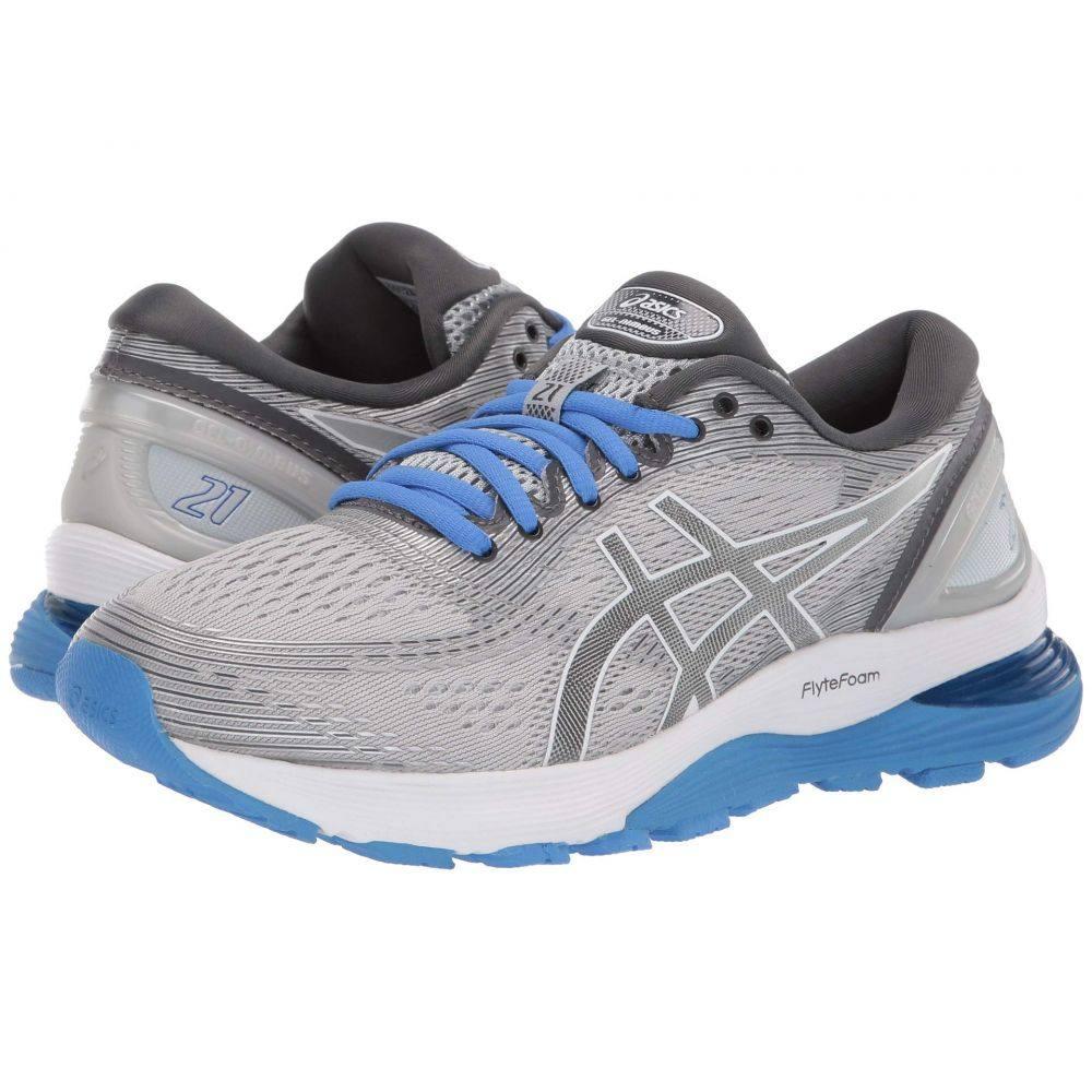 アシックス ASICS レディース ランニング・ウォーキング シューズ・靴【GEL-Nimbus 21】Mid Grey/Dark Grey