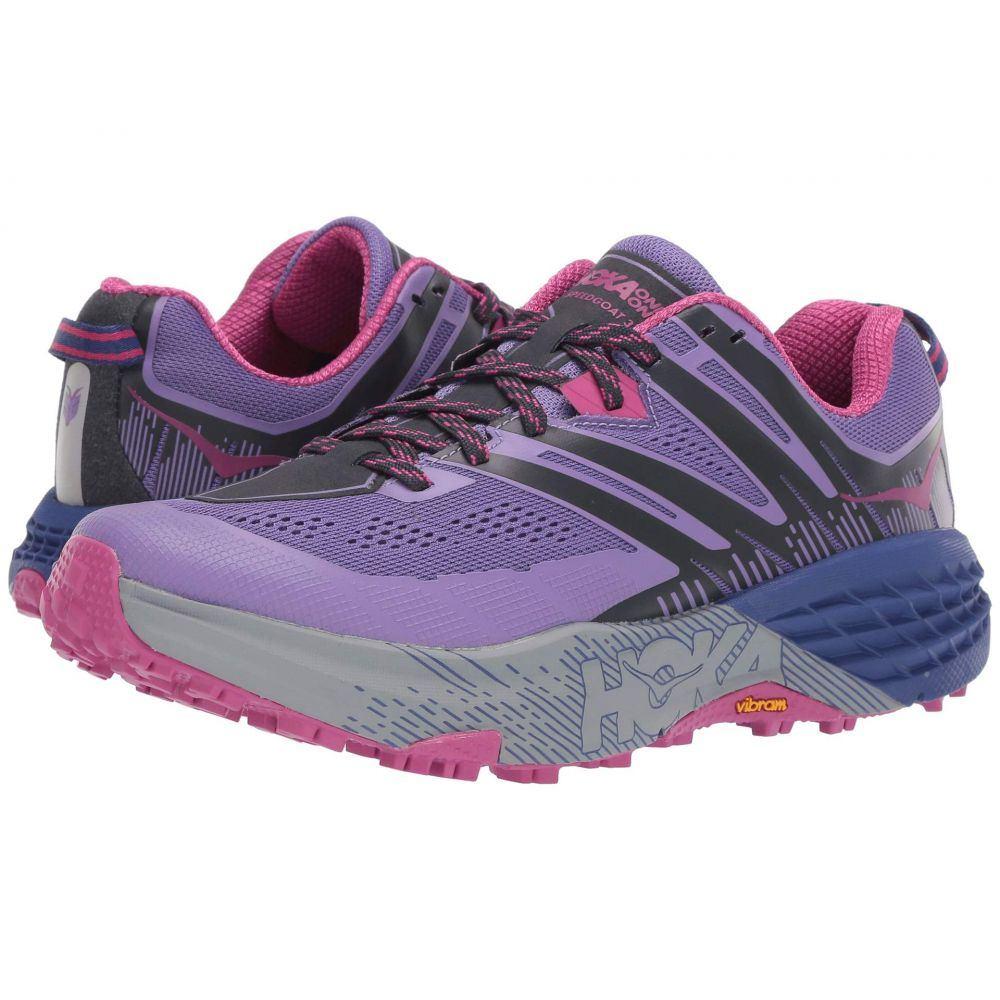 ホカ オネオネ Hoka One One レディース ランニング・ウォーキング シューズ・靴【Speedgoat 3】Paisley Purple/Ebony