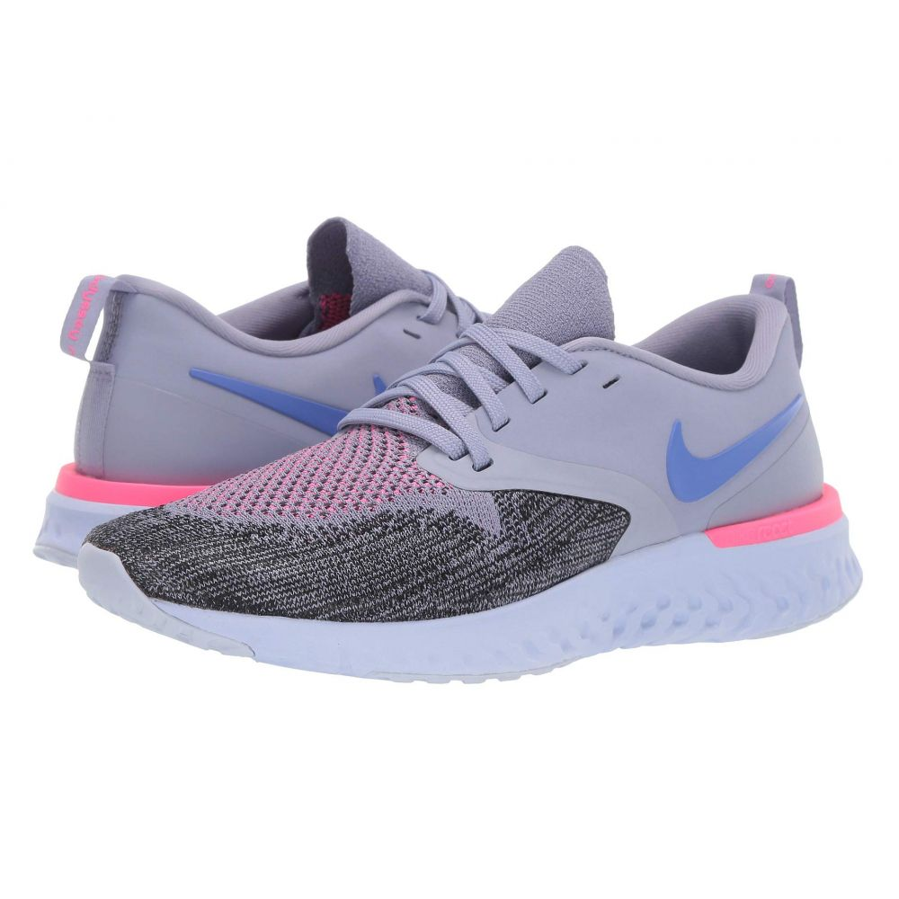 ナイキ Nike レディース ランニング・ウォーキング シューズ・靴【Odyssey React Flyknit 2】Indigo Haze/Sapphire/Black/Iron Purple