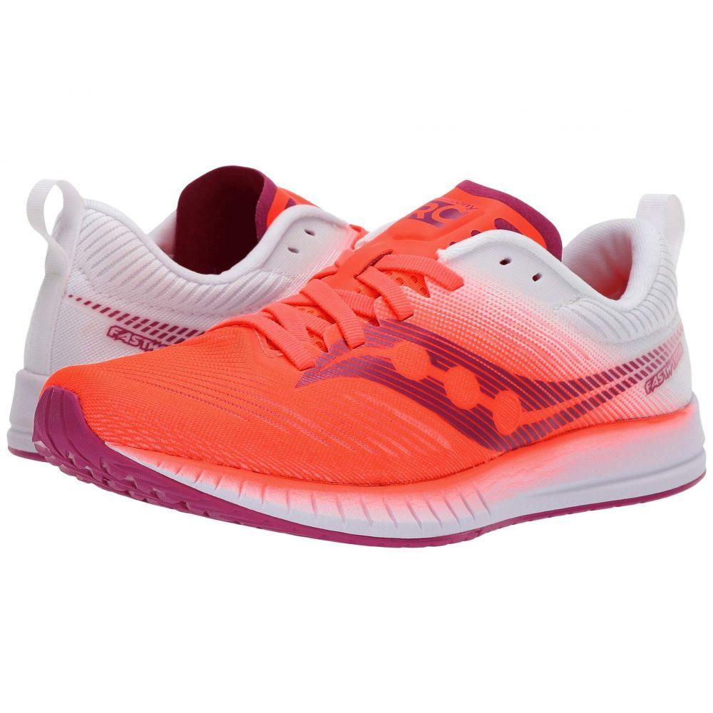 サッカニー Saucony レディース ランニング・ウォーキング シューズ・靴【Fastwitch 9】Vizi Red/White