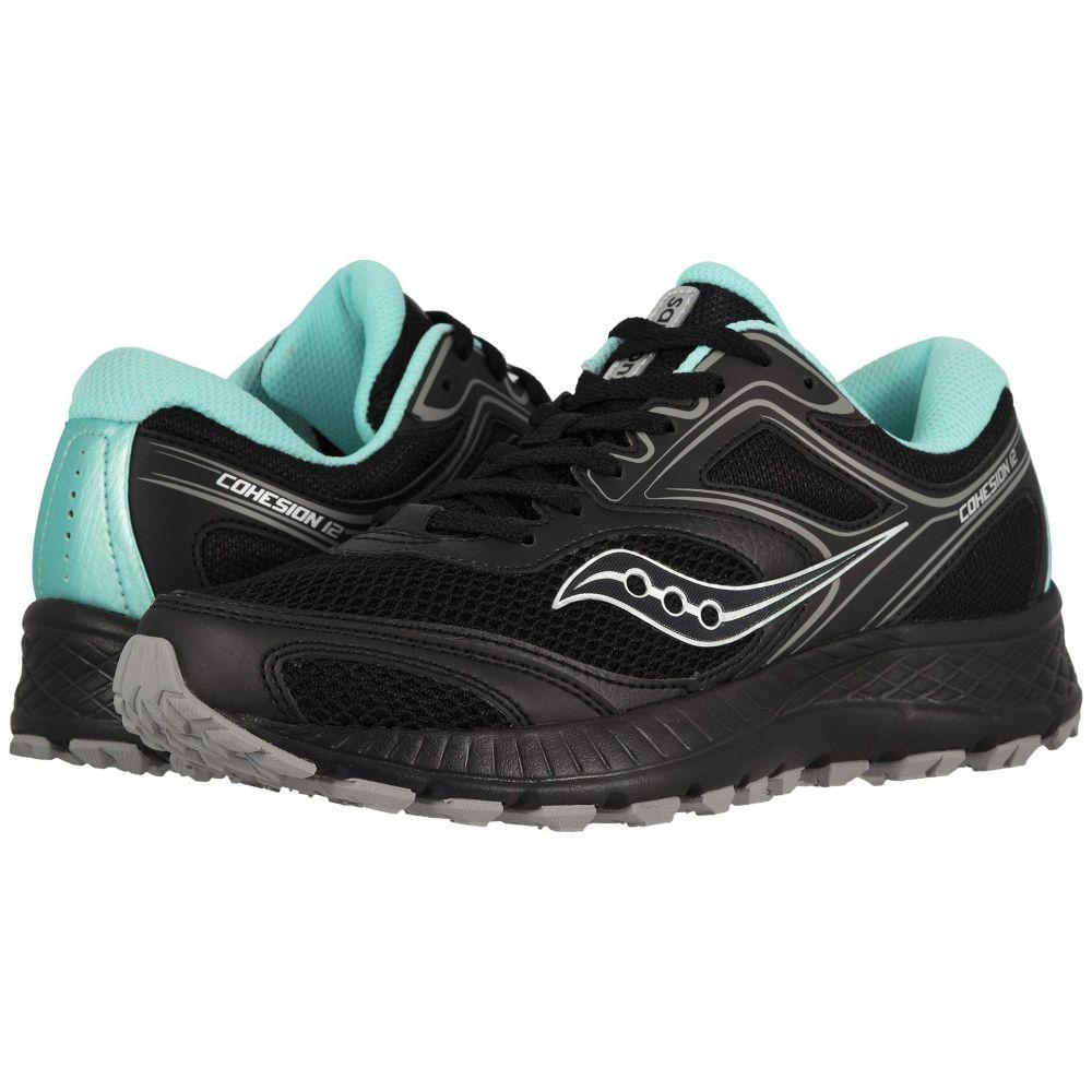 サッカニー Saucony レディース ランニング・ウォーキング シューズ・靴【Versafoam Cohesion TR12】Black/Grey/Hibiscus