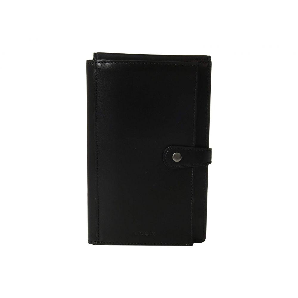 ロディス アクセサリー Lodis Accessories レディース パスポートケース【Audrey RFID New Passport Wallet】Black/Black