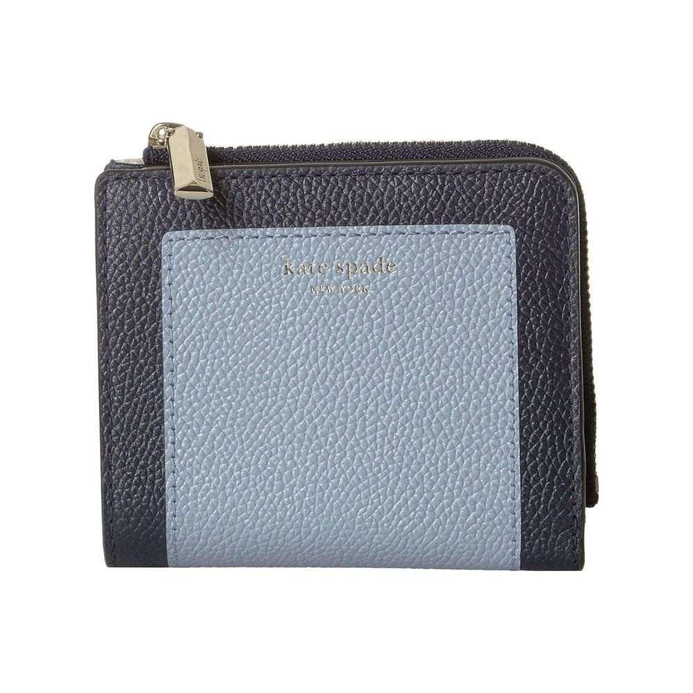ケイト スペード Kate Spade New York レディース 財布【Margaux Small Bifold Wallet】Horizon Blue Multi