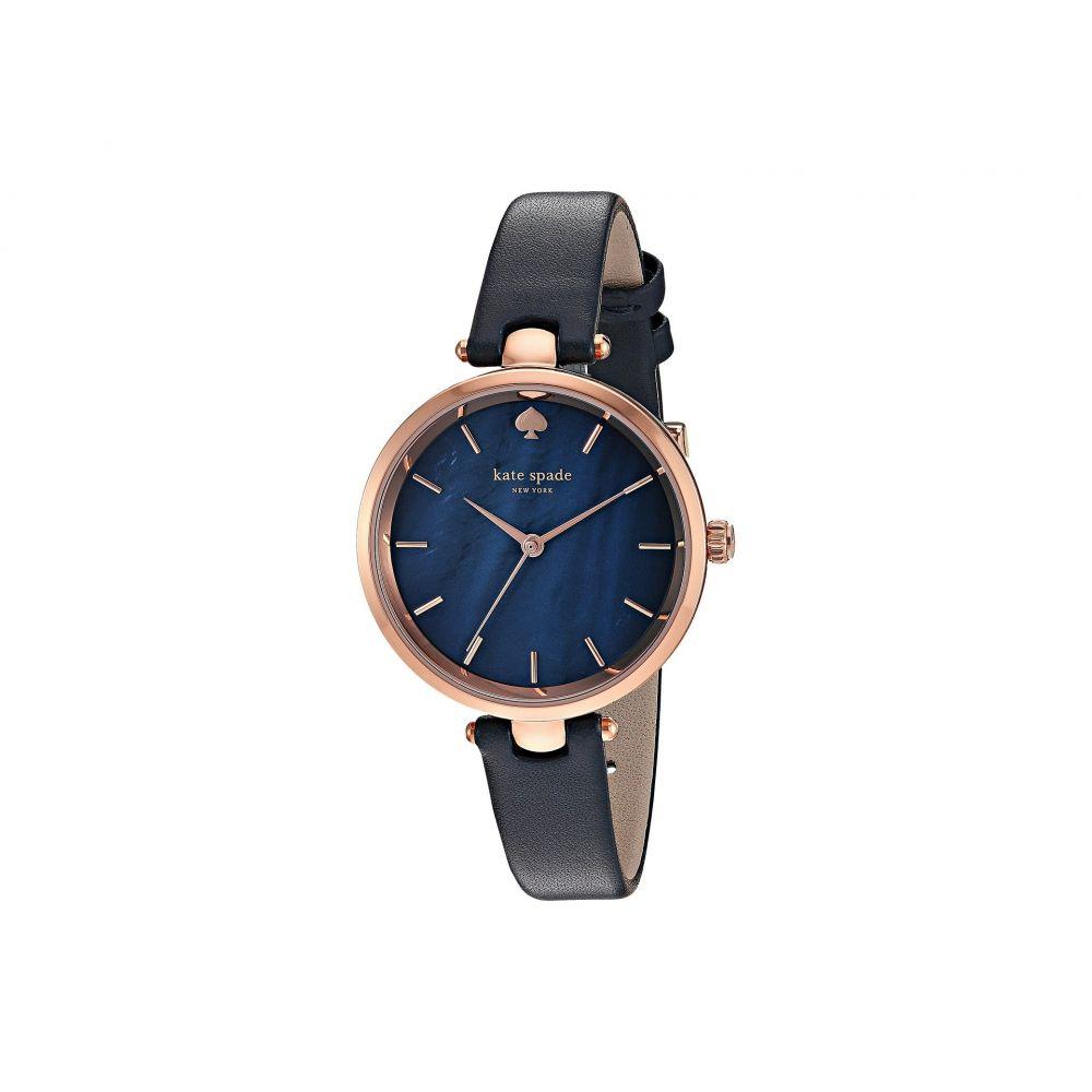 ケイト スペード Kate Spade New York レディース 腕時計【Holland Watch - KSW1157】Navy/Rose Gold