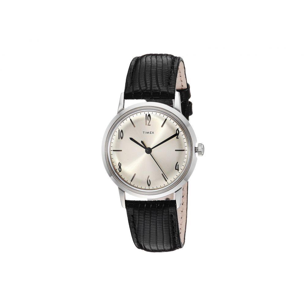 タイメックス Timex レディース 腕時計【Marlin Stainless Steel Hand-Wound Movement】Black/Silver