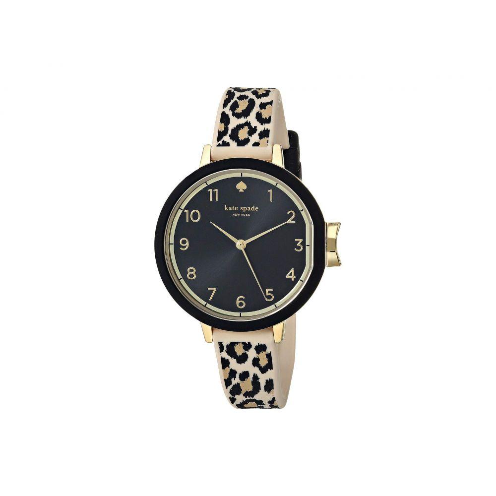 ケイト スペード Kate Spade New York レディース 腕時計【Park - KSW1485】Black/Brown