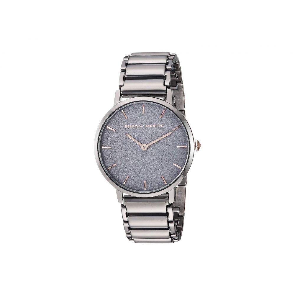 レベッカ ミンコフ Rebecca Minkoff レディース 腕時計【Major - 2200261】Grey IP