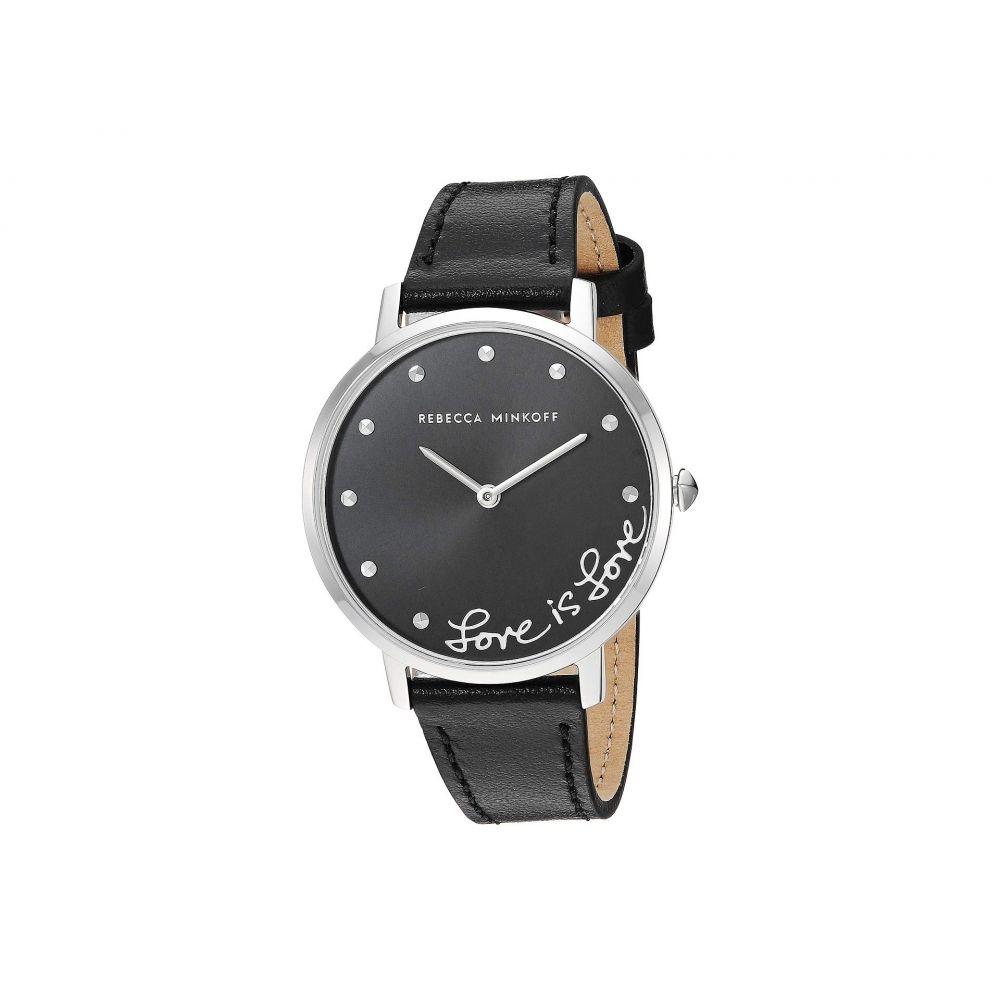 レベッカ ミンコフ Rebecca Minkoff レディース 腕時計【Major - 2200268】Black