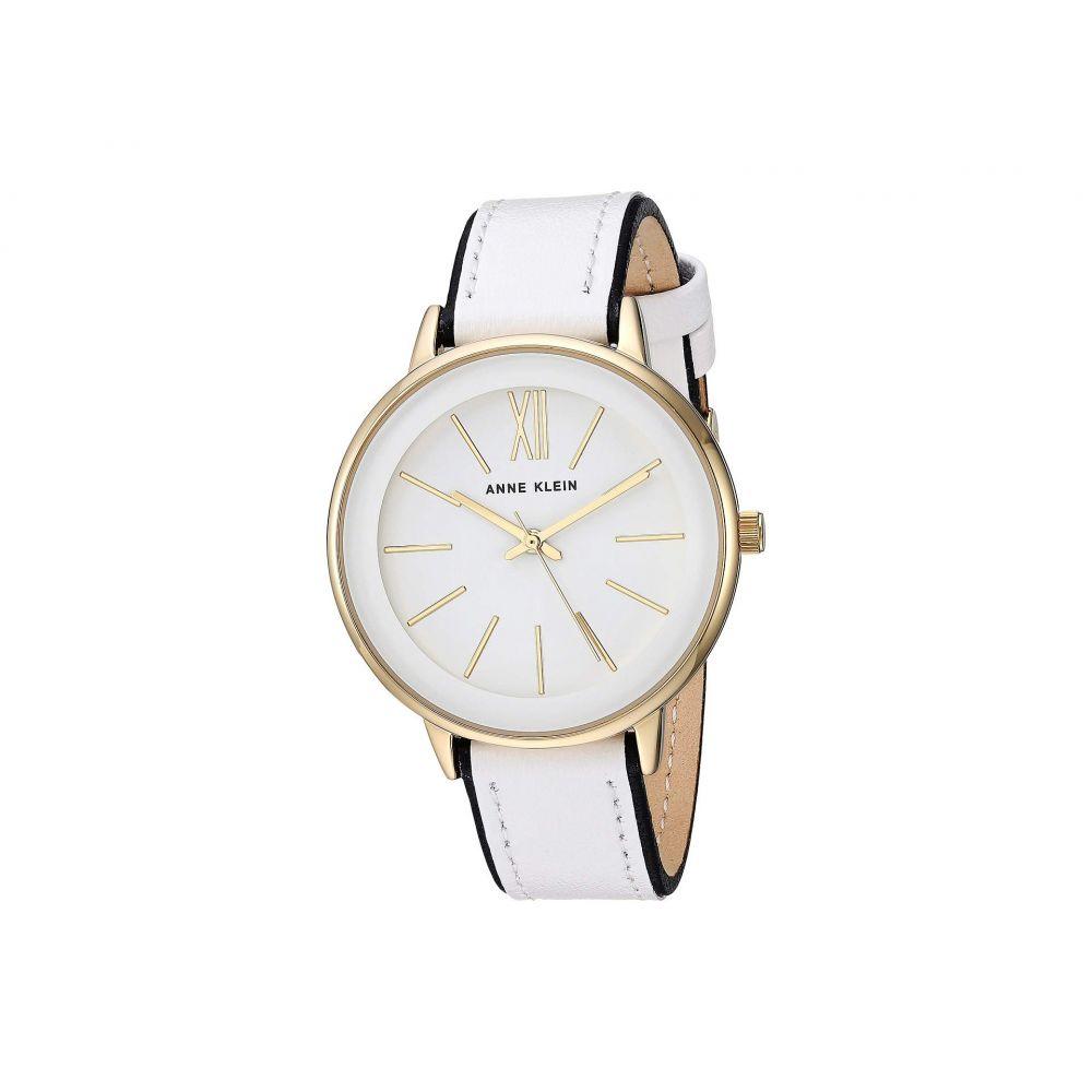 アン クライン Anne Klein レディース 腕時計【AK-3252WTBK】White