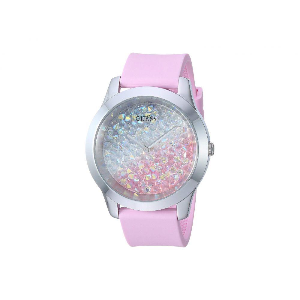 ゲス GUESS レディース 腕時計【U1223L1】Silver-Tone/Pink