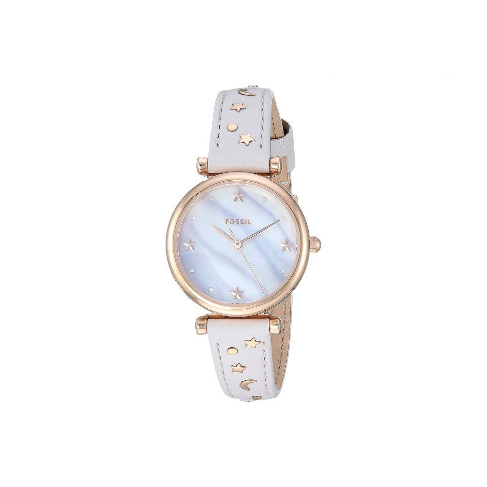 フォッシル Fossil レディース 腕時計【Carlie Mini - ES4526】White