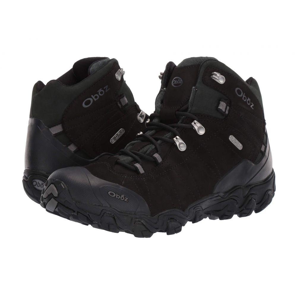 オボズ Oboz メンズ シューズ・靴 ブーツ【Bridger BDRY】Black