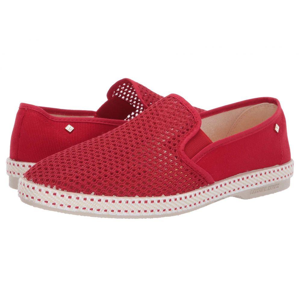 リビエラ Rivieras メンズ シューズ・靴 スリッポン・フラット【Classic 20 Slip-On】Red