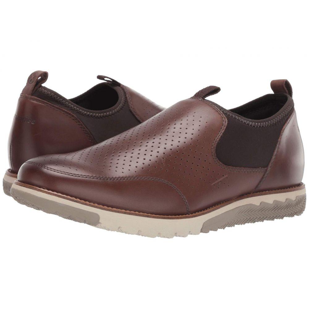 ハッシュパピー Hush Puppies メンズ シューズ・靴 スリッポン・フラット【Expert Perf Slip-On】Saddle Brown Leather