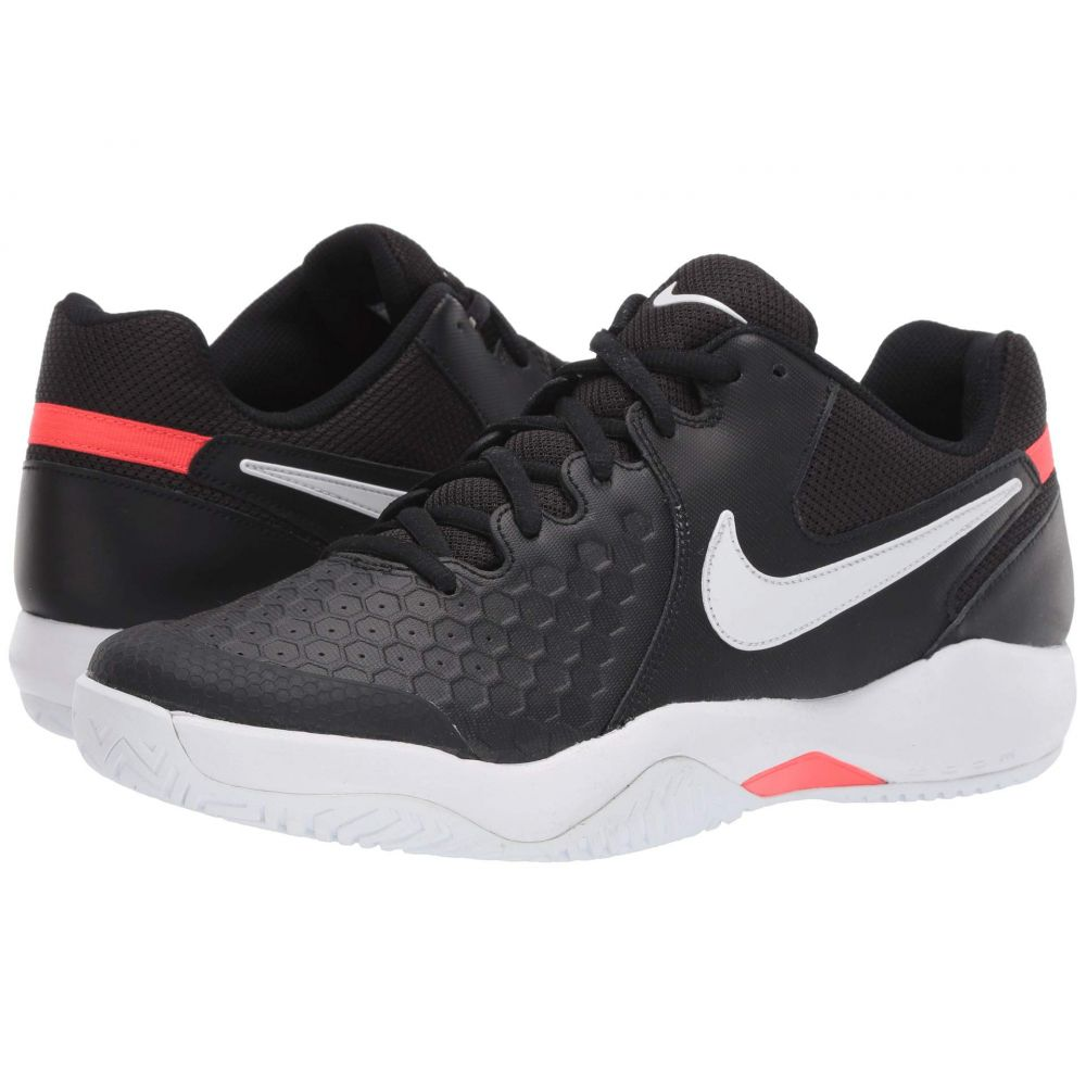 ナイキ Nike メンズ テニス シューズ・靴【Air Zoom Resistance】Black/White/Bright Crimson