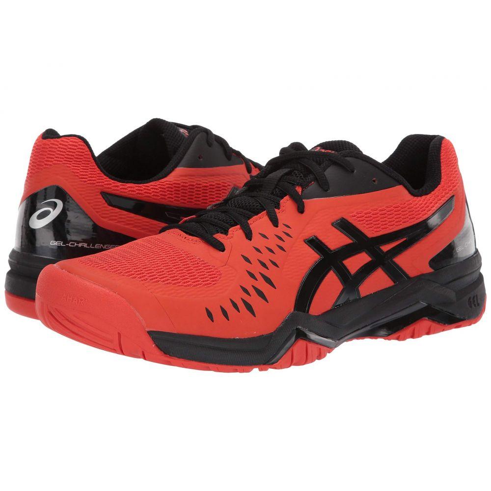 アシックス ASICS メンズ テニス シューズ・靴【Gel-Challenger 12】Cherry Tomato/Black
