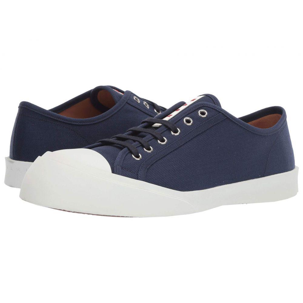 マルニ MARNI メンズ テニス シューズ・靴【Exaggerated Tennis Sneaker】Blue/Black