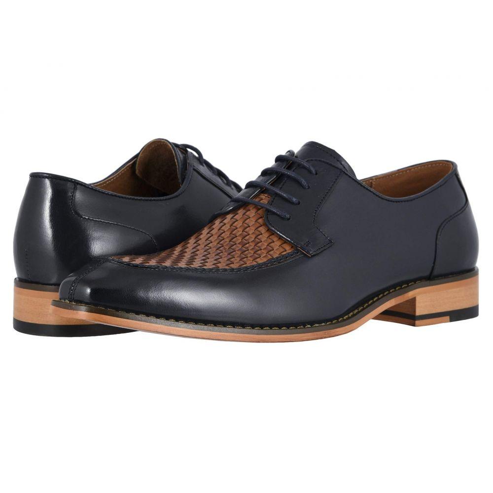 ステイシー アダムス Stacy Adams メンズ シューズ・靴 革靴・ビジネスシューズ【Winthrop】Navy/Tan