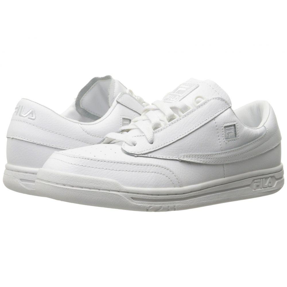 フィラ Fila メンズ テニス シューズ・靴【Original Tennis】White/White/White