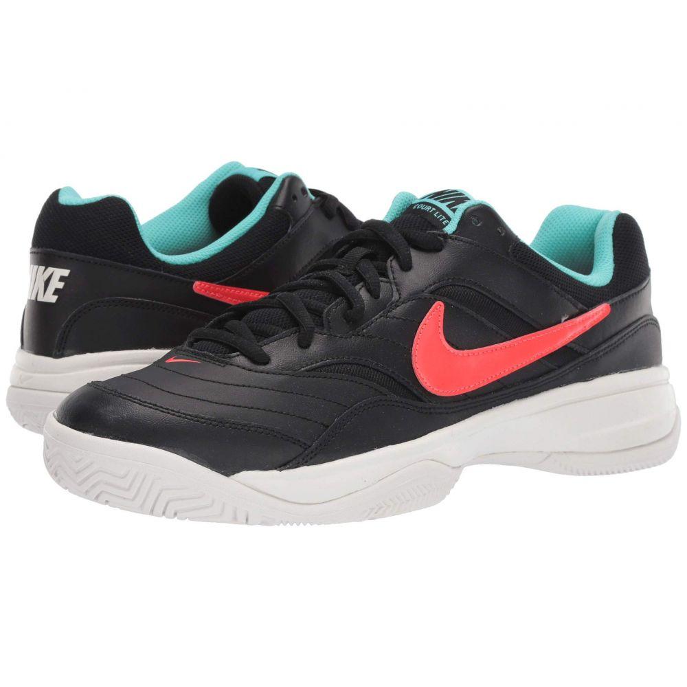 ナイキ Nike メンズ テニス シューズ・靴【Court Lite】Black/Bright Crimson/Aurora Green