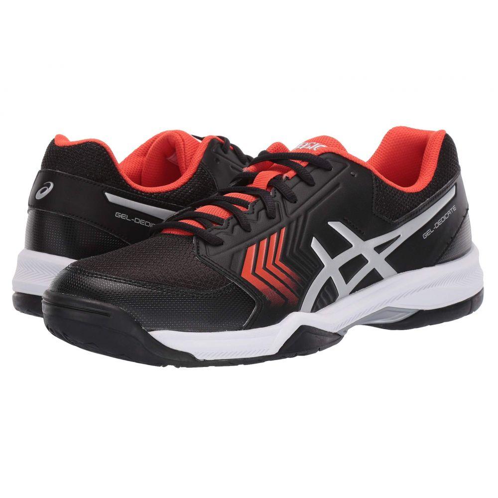 アシックス ASICS メンズ テニス シューズ・靴【Gel-Dedicate 5】Black/Silver