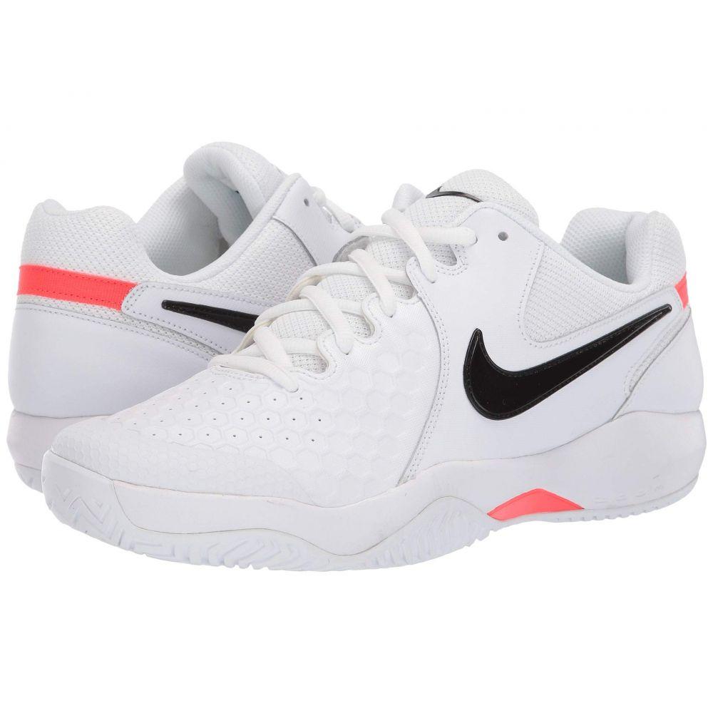 ナイキ Nike メンズ テニス シューズ・靴【Air Zoom Resistance】White/Black/Bright Crimson