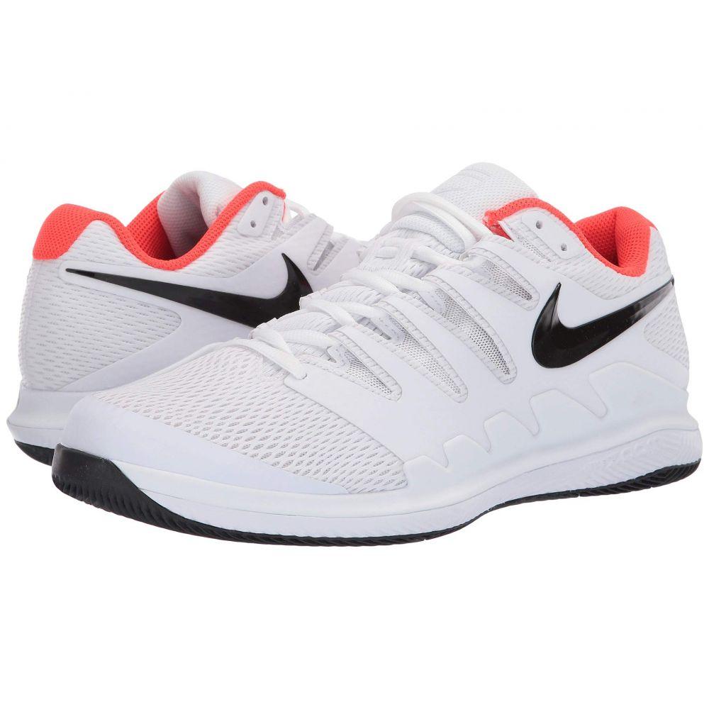 ナイキ Nike メンズ テニス シューズ・靴【Air Zoom Vapor X】White/Black/Bright Crimson