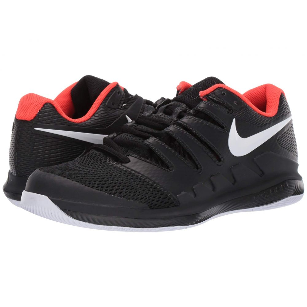 ナイキ Nike メンズ テニス シューズ・靴【Air Zoom Vapor X】Black/White/Bright Crimson