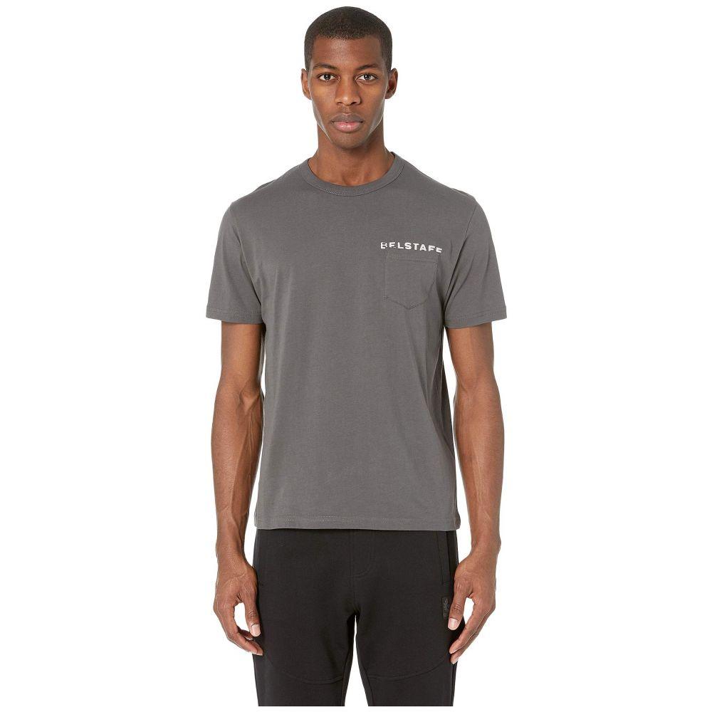 ベルスタッフ BELSTAFF メンズ トップス Tシャツ【Spray Phoenix T-Shirt】Vintage Pewter