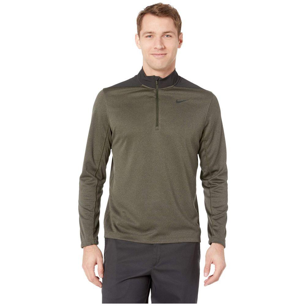 ナイキ Nike Golf メンズ トップス【Dry Top 1/2 Zip Core】Sequoia/Cargo Khaki/Black/Black