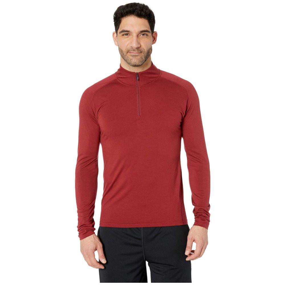 スマートウール Smartwool メンズ トップス【Merino 150 Base Layer 1/4 Zip】Tibetan Red