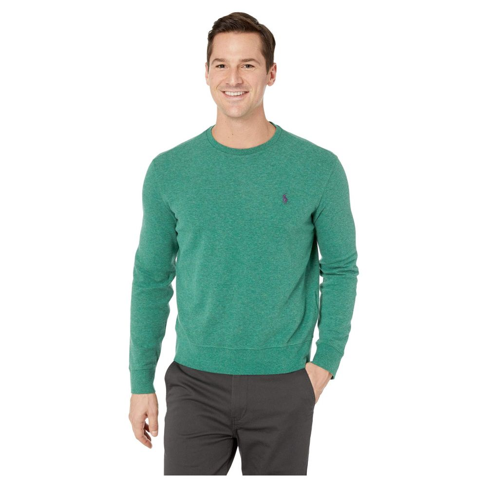 ラルフ ローレン Polo Ralph Lauren メンズ トップス【Double Knit Jersey Long Sleeve Knit】Green Heather 1