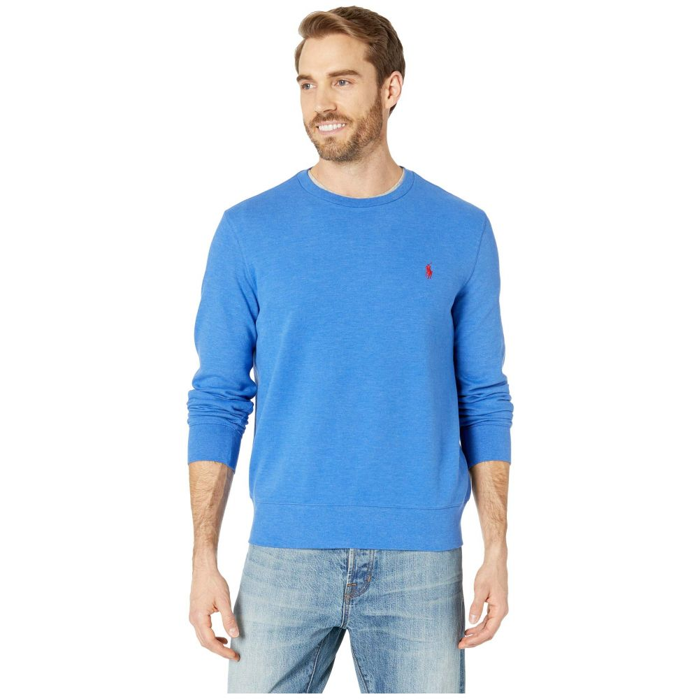 ラルフ ローレン Polo Ralph Lauren メンズ トップス【Double Knit Jersey Long Sleeve Knit】Dockside Blue Heather 1