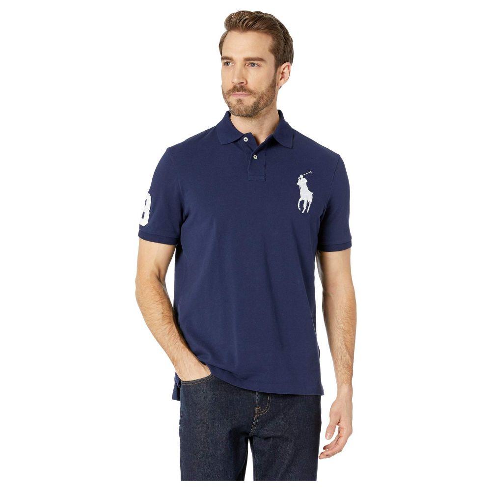 ラルフ ローレン Polo Ralph Lauren メンズ トップス【Basic Mesh Short Sleeve Big Pony Classic Fit Knit】Newport Navy