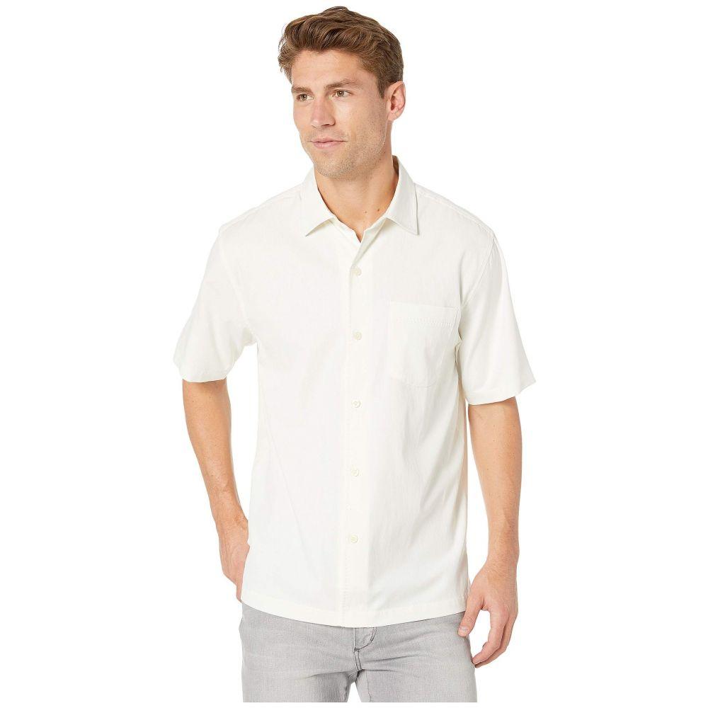 トミー バハマ Tommy Bahama メンズ トップス シャツ【Catalina Stretch Twill Shirt】White