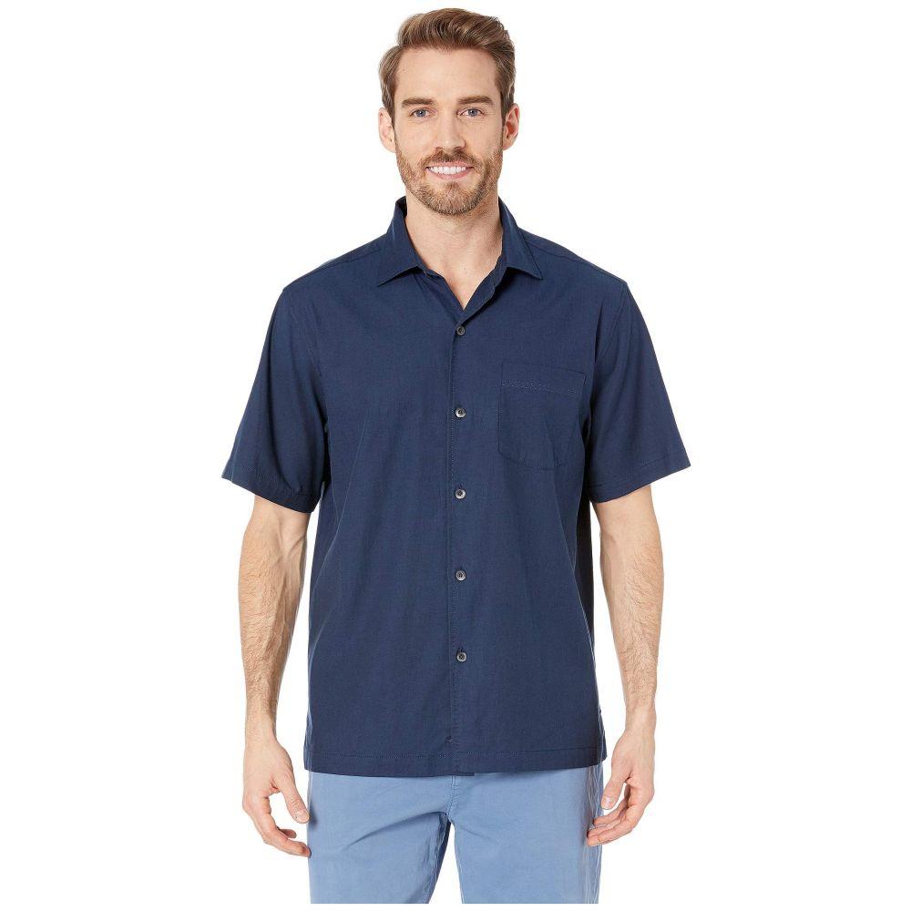トミー バハマ Tommy Bahama メンズ トップス シャツ【Catalina Stretch Twill Shirt】Navy