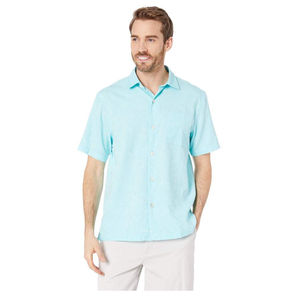トミー バハマ Tommy Bahama メンズ トップス シャツ【Camden Coast Shirt】Blue Swell