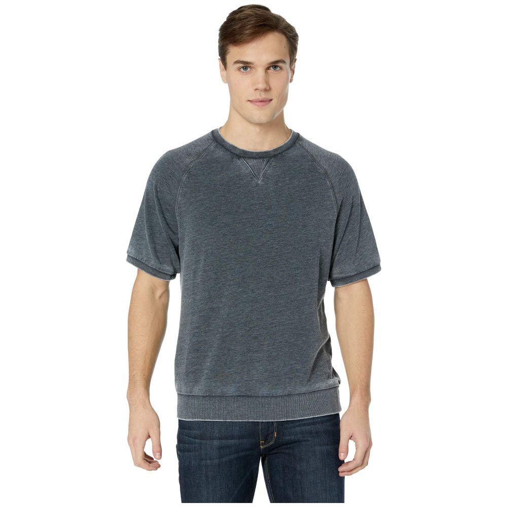オルタナティヴ Alternative メンズ トップス スウェット・トレーナー【Co-Ed Short Sleeve Sweatshirt】Washed Black
