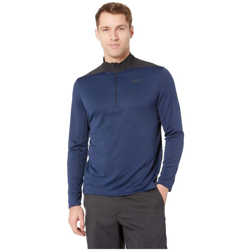 ナイキ Nike Golf メンズ トップス【Dry Top 1/2 Zip Core】Obsidian/Blue Void/Black/Black
