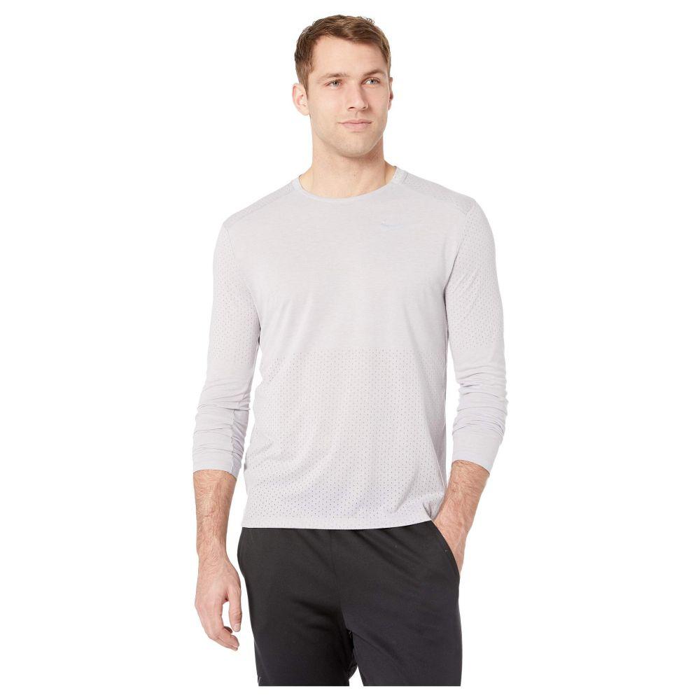 ナイキ Nike メンズ トップス【Breathe Rise 365 Long Sleeve】Atmosphere Grey/Heather/Reflective Silver