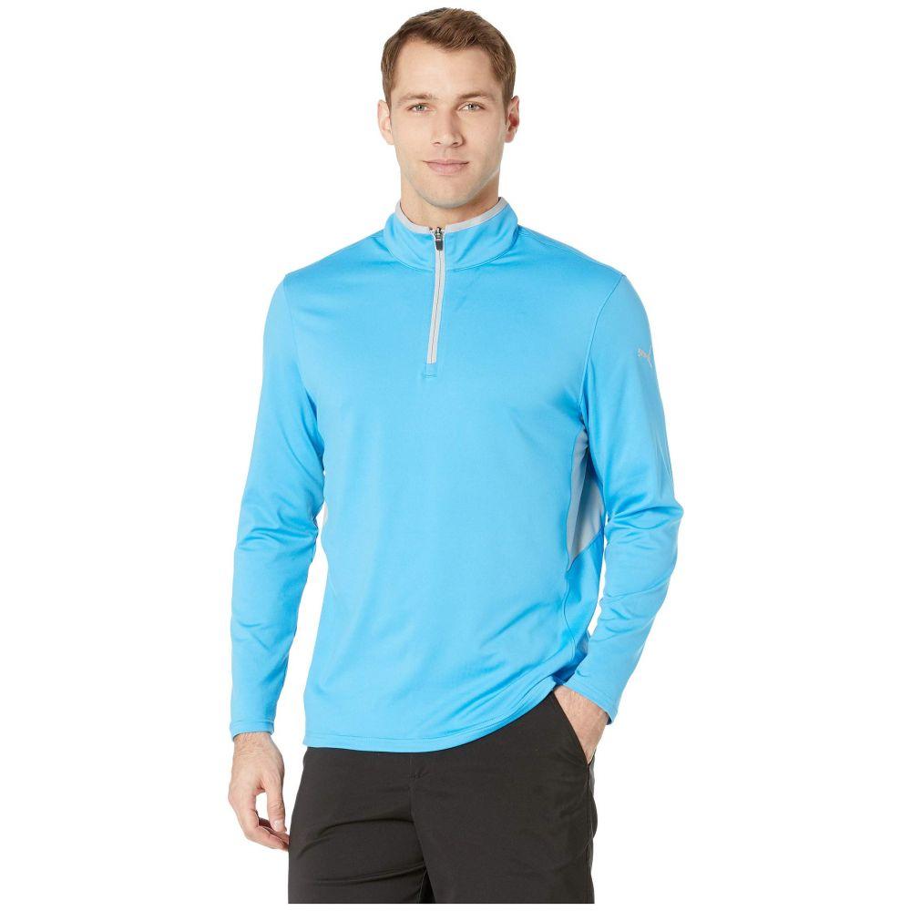 プーマ PUMA Golf メンズ トップス【Rotation 1/4 Zip】Bleu Azur