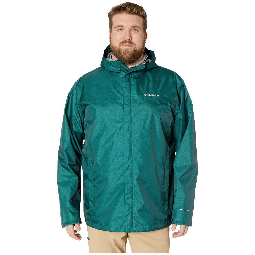 コロンビア Columbia メンズ アウター レインコート【Big & Tall Diablo Creek Rain Jacket】Pine Green Maze Print